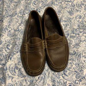 Polo Ralph Lauren slide on dress shoes